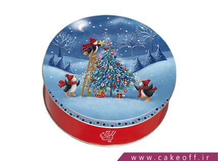 کیک تولد آدم برفی - کیک رویای سپید | کیک آف