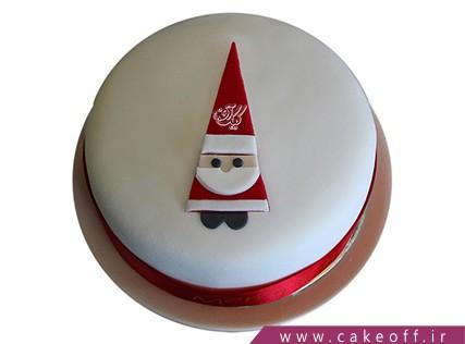 کیک مری کریسمس - کیک بابانوئل دوست داشتنی | کیک آف