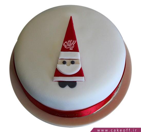 کیک مری کریسمس - کیک بابانوئل دوست داشتنی   کیک آف
