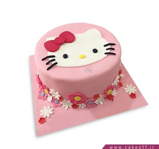 کیک تولد کودک - کیک کیتی گلباران | کیک آف