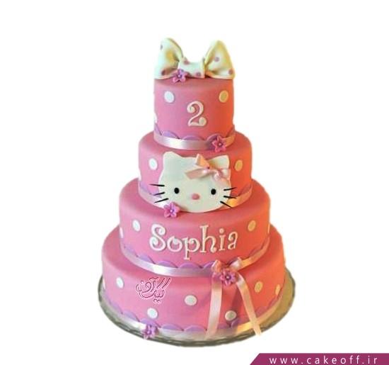کیک تولد کیتی طبقاتی