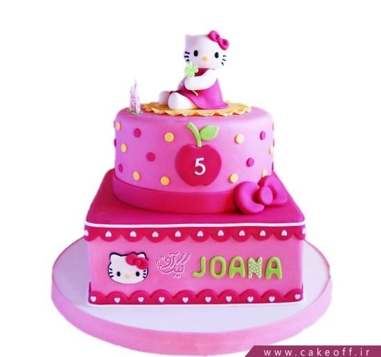 کیک تولد دخترانه جدید - کیک کیتی منتظره دوستاشه | کیک آف