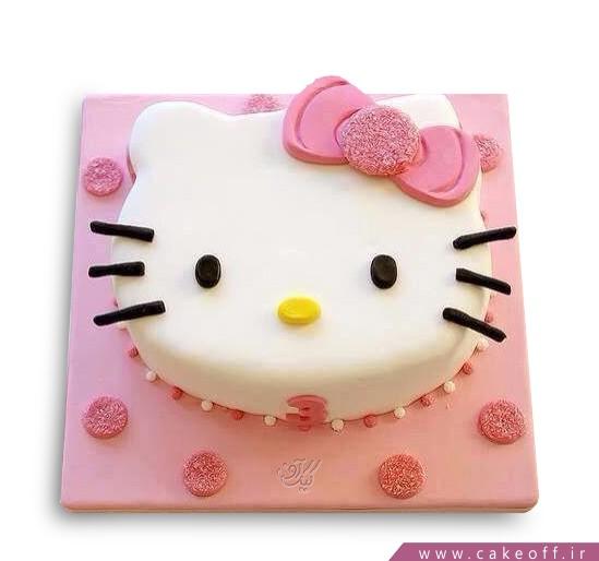 کیک تولد کیتی بلا | کیک آف