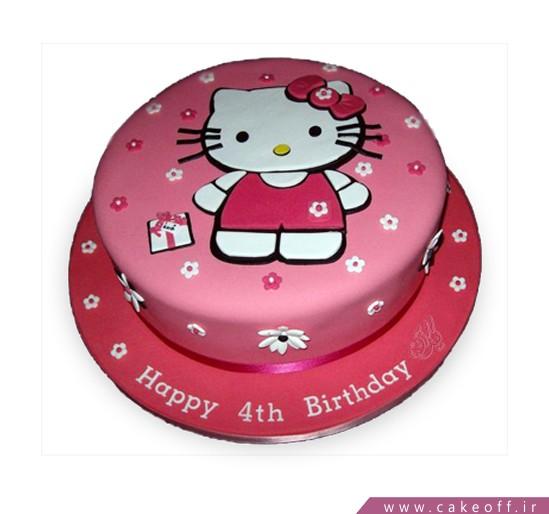 کیک تولد کیتی مهربان