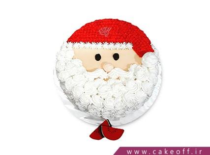 کیک جشن کریسمس - کیک منتظر بابانوئل بمان | کیک آف