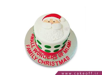 کیک جشن کریسمس - کیک پاپانوئل دوست داشتنی من | کیک آف
