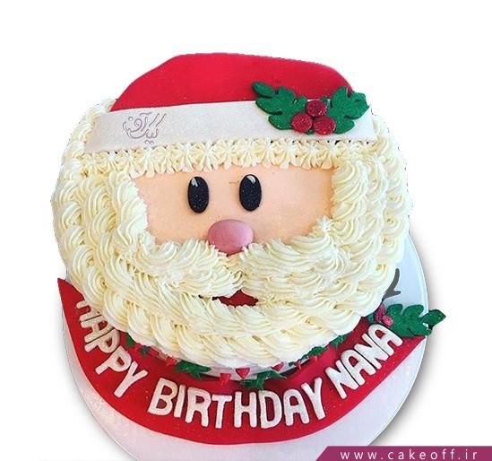 کیک کریسمس - کیک نوئل | کیک آف