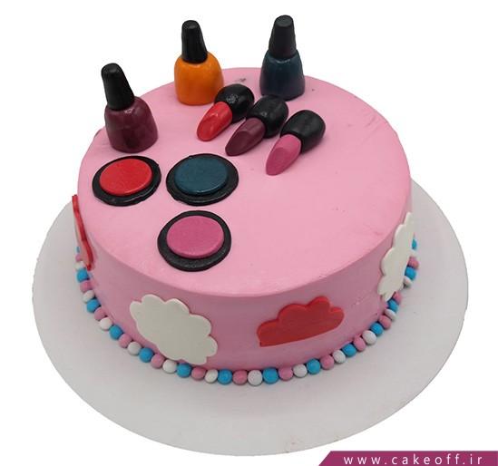 کیک لوازم آرایش نیوشا