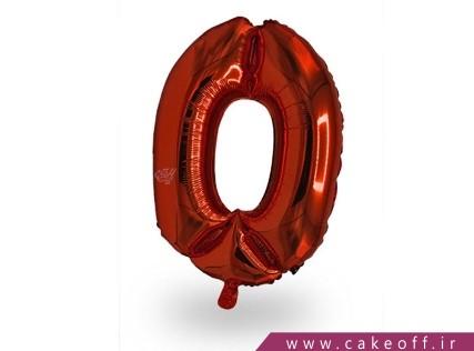 بادکنک عدد تولد | صفر قرمز