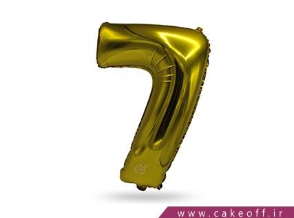 بادکنک عدد تولد | هفت طلایی