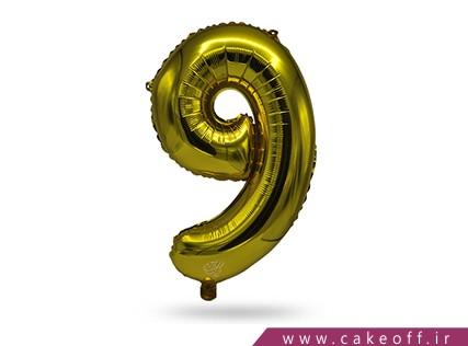 بادکنک عدد تولد | نه طلایی