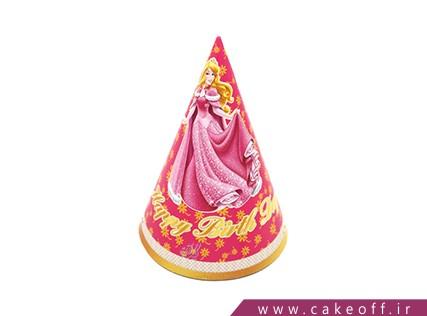 کلاه تولد کودک - کلاه تولد تم سیندرلا | کیک آف