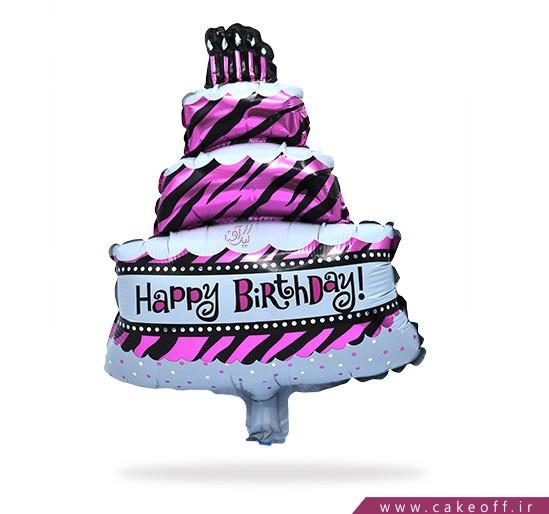 فروش آنلاین لوازم تولد - بادکنک فویلی طرح کیک   کیک آف