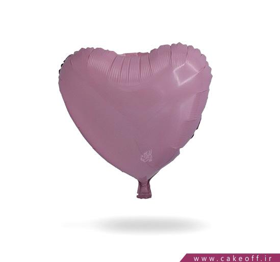 خرید آنلاین وسایل تولد - بادکنک قلبی فویلی صورتی | کیکآف