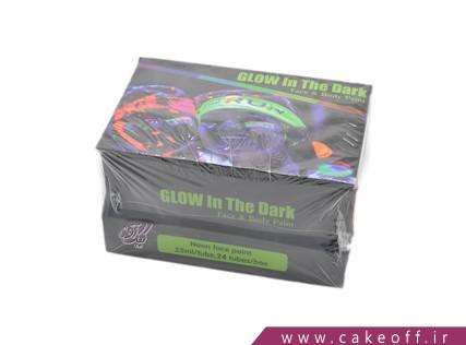 فروش لوازم جشن تولد - رنگ بلک لایت | کیک آف