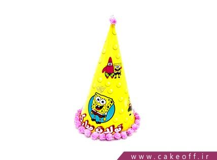 خرید آنلاین لوازم جشن - کلاه تولد باب اسفنجی و پاتریک | کیکآف