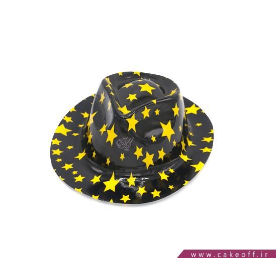 لوازم جشن - کلاه شاپو طرح ستاره دار | کیکآف