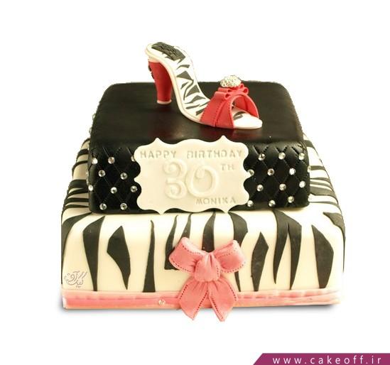 کیک کفش پاشنه دار