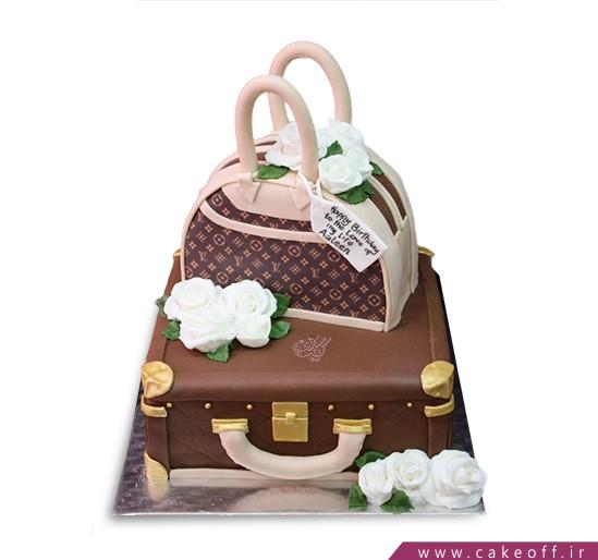 کیک فوندانتی آماده سفر | کیک آف