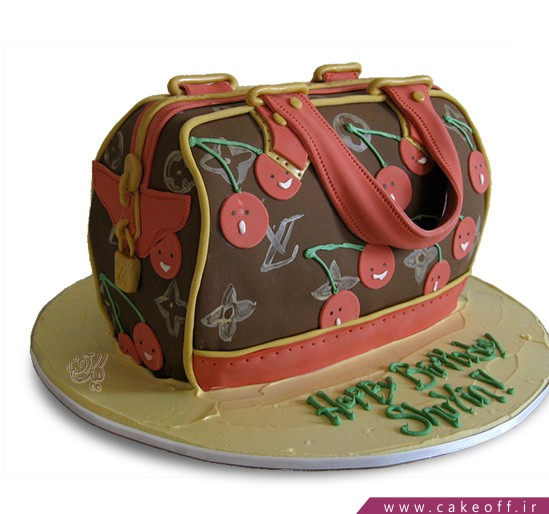 کیک کیف گیلاسی