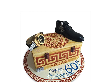 کیک تولد مردانه شیک پوش | کیک آف