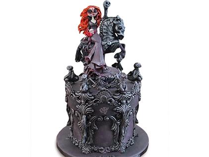کیک وحشتناک - کیک هالووین 1 | کیک آف