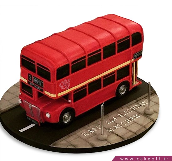 کیک اتوبوس - کیک سرویس مدرسه ما | کیک آف