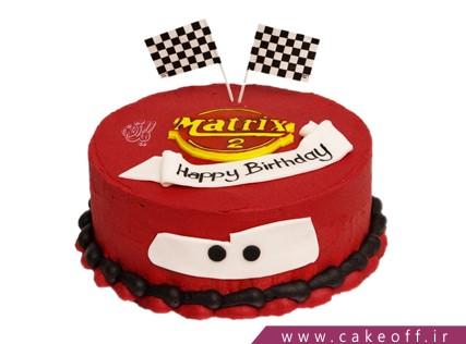 کیک مک کوئین در کورس مسابقه | کیک آف