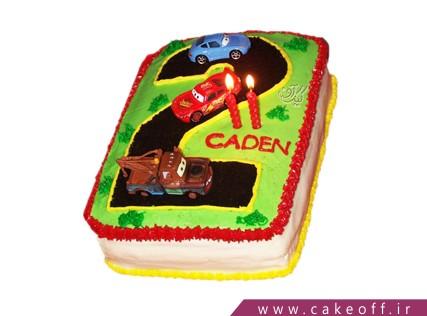 کیک مک کویین در پیست شماره 2 | کیک آف