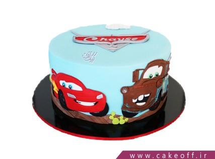 کیک مک کویین و ماتر | کیک آف
