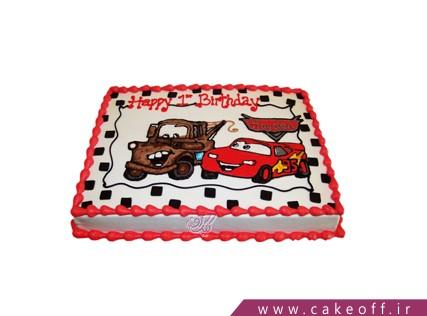 کیک ماشین - کیک مک کوئین و دوستش | کیک آف