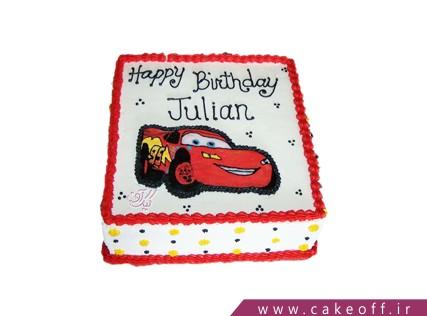 کیک مک کوئین در قاب | کیک آف