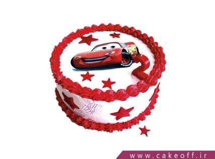 کیک مک کوئین ستاره باران | کیک آف