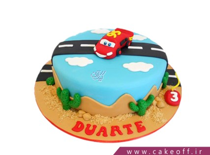 کیک تولد مک کویین