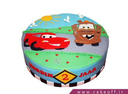 کیک مک کوئین و یک روز دل انگیز | کیک آف