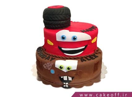 کیک پسرانه مک کویین خوشحال | کیک آف