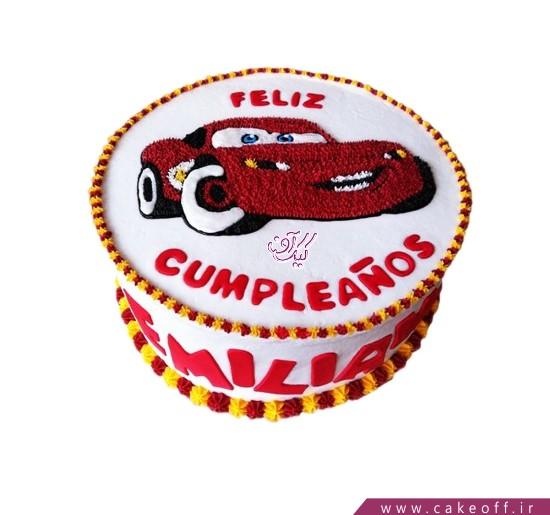 کیک مک کوئین زبل | کیک آف