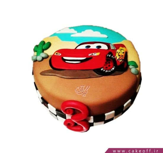 کیک مک کوئین قهرمان
