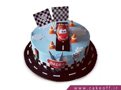 کیک ماشین - کیک تولد مک کویین 4 | کیک آف