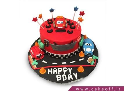 کیک ماشین - کیک تولد مک کویین 6 | کیک آف