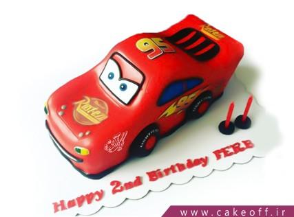 کیک پسرانه - کیک تولد مک کویین 12 | کیک آف