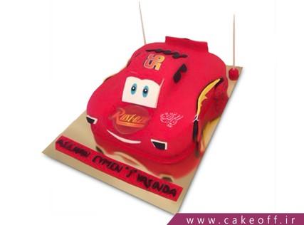 کیک پسرانه - کیک تولد مک کویین 11 | کیک آف