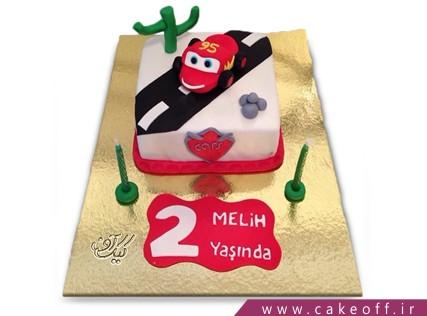 کیک پسرانه - کیک تولد مک کویین 13 | کیک آف