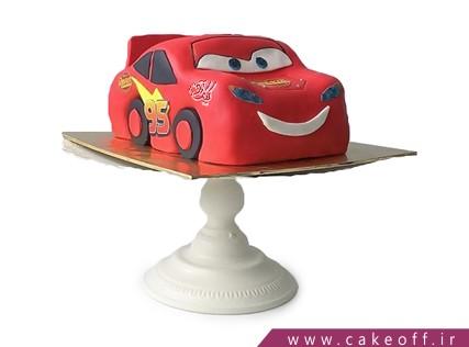 کیک پسرانه - کیک تولد مک کویین 14 | کیک آف