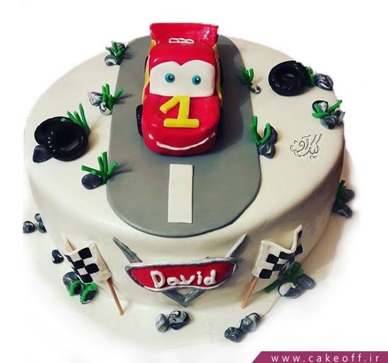 کیک تولد مک کویین 5