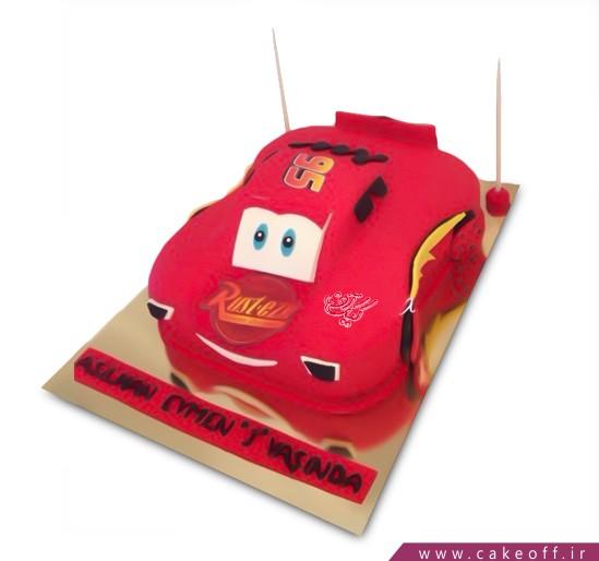 کیک پسرانه - کیک تولد مک کویین ۱۱ | کیک آف