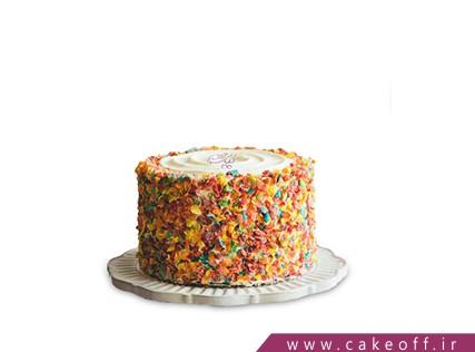 کیک تولد خاص - کیک خامه ای شکلات سنگی   کیک آف
