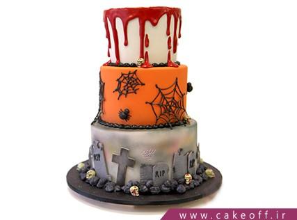 کیک وحشتناک - کیک هالووین احضار روح | کیک آف