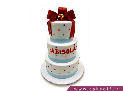 سفارش کیک تولد - کیک طبقاتی سان سباستین | کیک آف