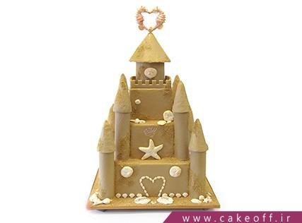 سفارش اینترنتی کیک تولد - کیک تولد قلعه دریایی | کیک آف